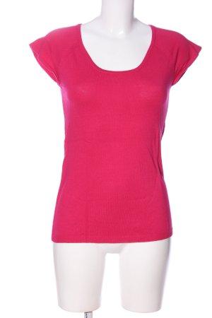 Manguun Kurzarmpullover pink Casual-Look