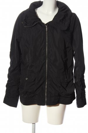 Manguun Short Jacket black casual look