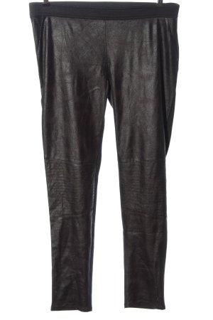 Manguun Leggings bronze-colored-black flecked casual look