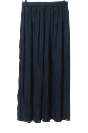 Manguun Jupe longue bleu style décontracté