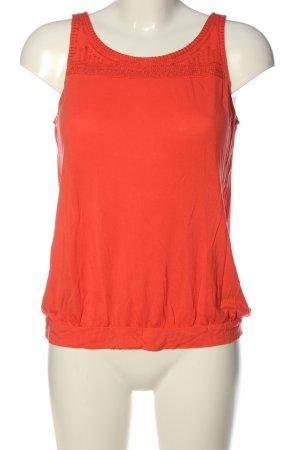 Manguun Top basic rosso stile casual