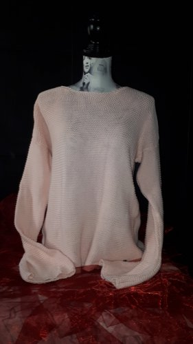 Manguun Coarse Knitted Sweater pink
