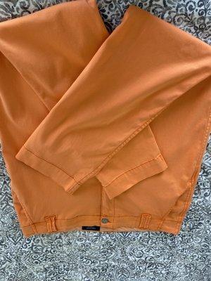 Manguun Straight Leg Jeans light orange-apricot cotton