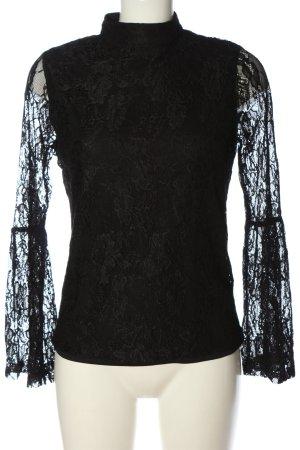 Manguun Blusa in merletto nero elegante