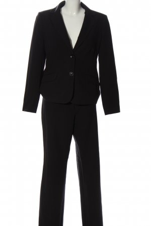Manguun Tailleur-pantalon noir style d'affaires