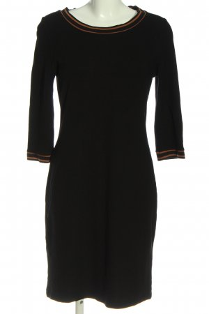 Manguun Knitted Dress black casual look