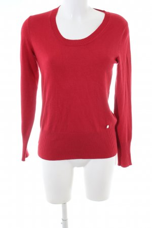 Manguun Strickpullover rot Casual-Look