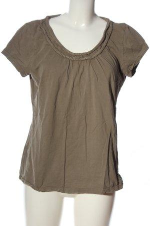 Manguun Camicia maglia marrone stile casual