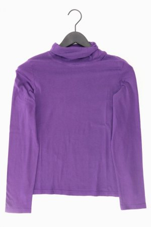 Manguun Turtleneck Shirt lilac-mauve-purple-dark violet cotton