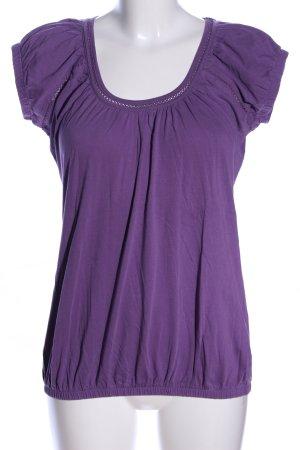Manguun T-Shirt lila Casual-Look