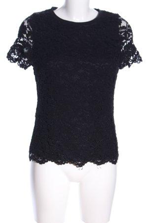 Manguun T-Shirt schwarz Elegant