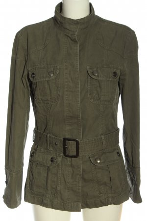 Manguun Between-Seasons Jacket khaki casual look