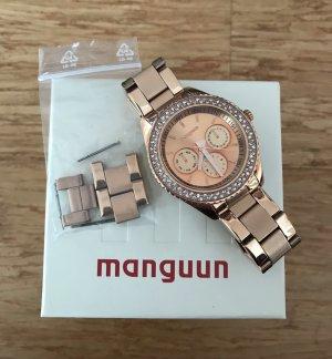 Manguun Uhr - Rose Gold