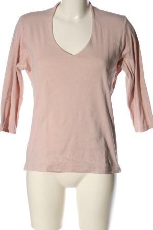 Manguun V-Ausschnitt-Shirt nude Casual-Look