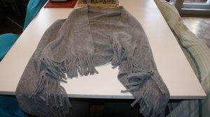 Manguun Veste à franges taupe coton