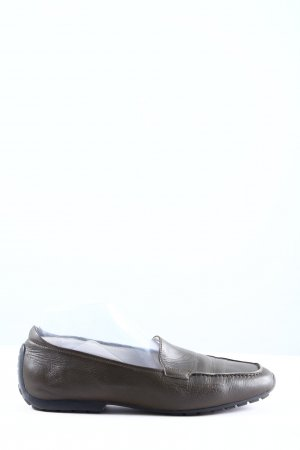 Mania Moccasins light grey business style