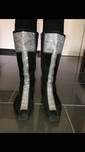 Mania Stiefel mit Swarovski  - Steinen