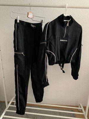 Cargo Pants black-white