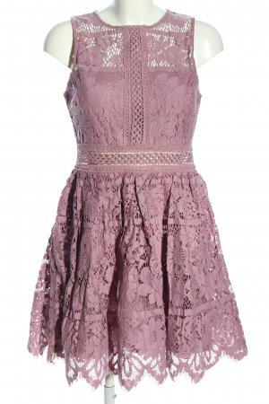 Maniju Koronkowa sukienka różowy Elegancki