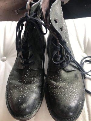 Manila Grace Stiefel in dunkelgrün - Größe 40