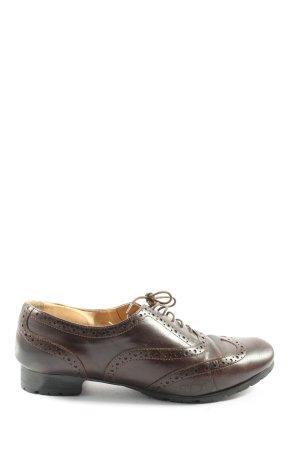 Mannori Scarpa Oxford marrone stile professionale