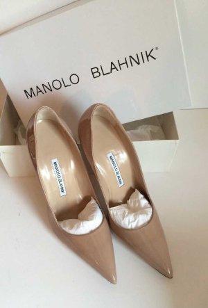 Manolo Blahnik BB 90mm Pumps Nude - Brand New