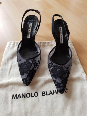 MANOLO BLAHNIK HEELS Gr. 371/2