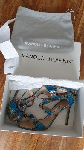 Manolo Blahnik Riemchen Heels