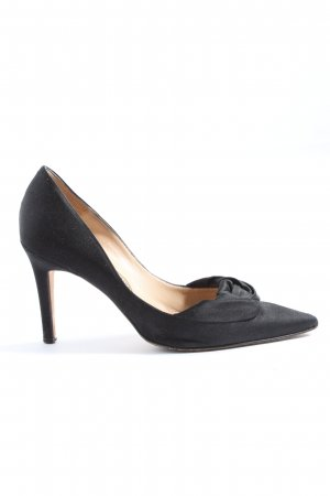 Manolo Blahnik Spitz-Pumps schwarz Business-Look