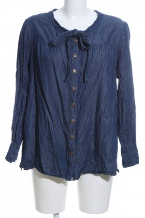 Manon Baptiste Blusa denim blu stile casual