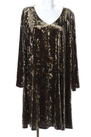 Manon Baptiste Midikleid khaki extravaganter Stil