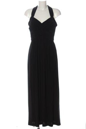 Manoukian Vestido largo negro elegante