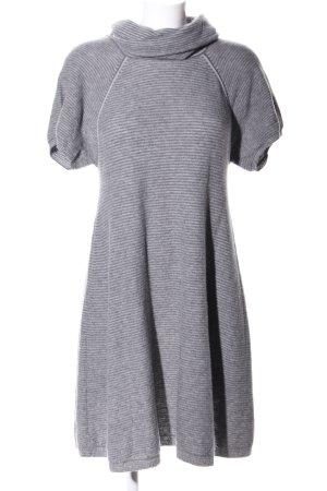 Manoukian Maglione dolcevita grigio chiaro puntinato stile casual