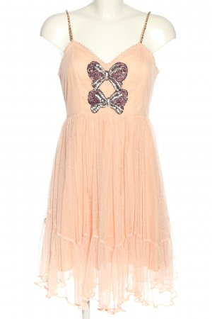 Manoush Spitzenkleid pink-lila Elegant