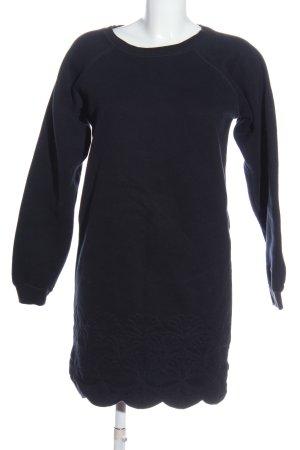 Manoush Sweat Dress blue casual look
