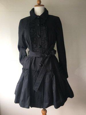 Manoush Trenchcoat Trench Mantel in schwarz