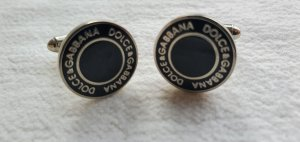 Dolce & Gabbana Puño negro-gris claro metal