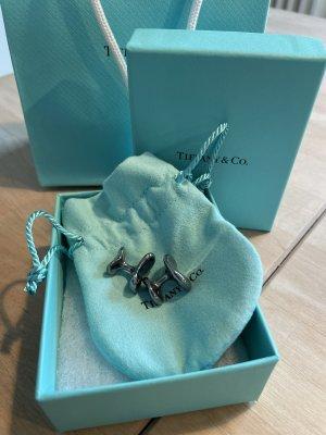 Tiffany&Co Bottone argento-grigio