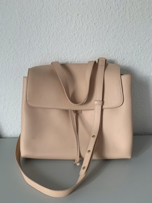 Mansur Gavriel Rosa Lady Bag Ledershopper Schultertasche