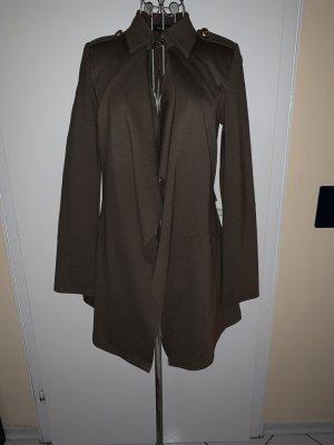 Lange blazer groen-grijs