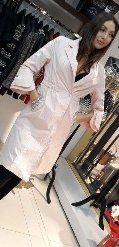 Zanardi Italy Robe manteau rose clair