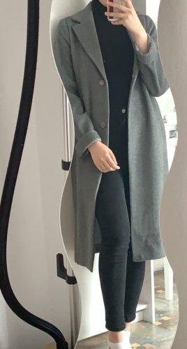 H&M Abrigo de lana gris