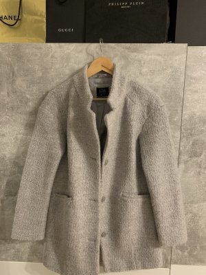 Clockhouse Manteau polaire gris clair