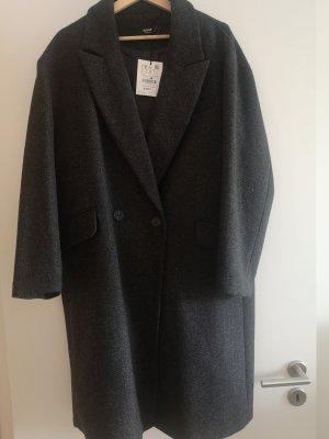 Pull & Bear Sukienka płaszczowa czarny-ciemnoszary