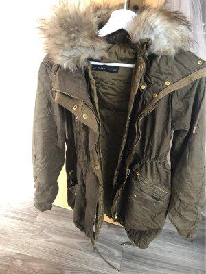Zara Woman Podwójna kurtka Wielokolorowy