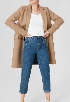 C&A Płaszcz oversize kremowy-nude