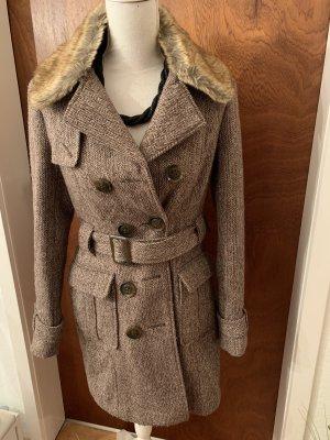 Orsay Giacca di lana marrone-oro