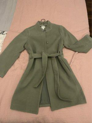 H&M Conscious Exclusive Quilted Coat khaki