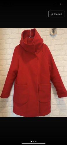 Hallhuber Oversized Coat red