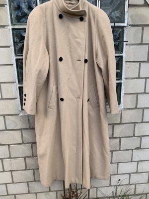Carla Degen Wool Coat nude
